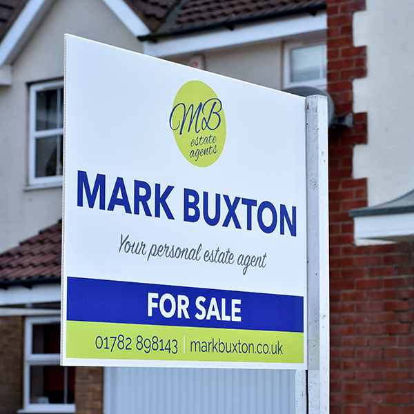 Estate Agent Branding for Mark Buxton Estate Agents