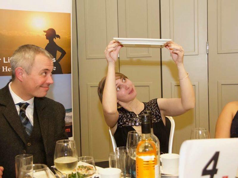 Burslem business owner Vicky Stanaway shows her true potteries side
