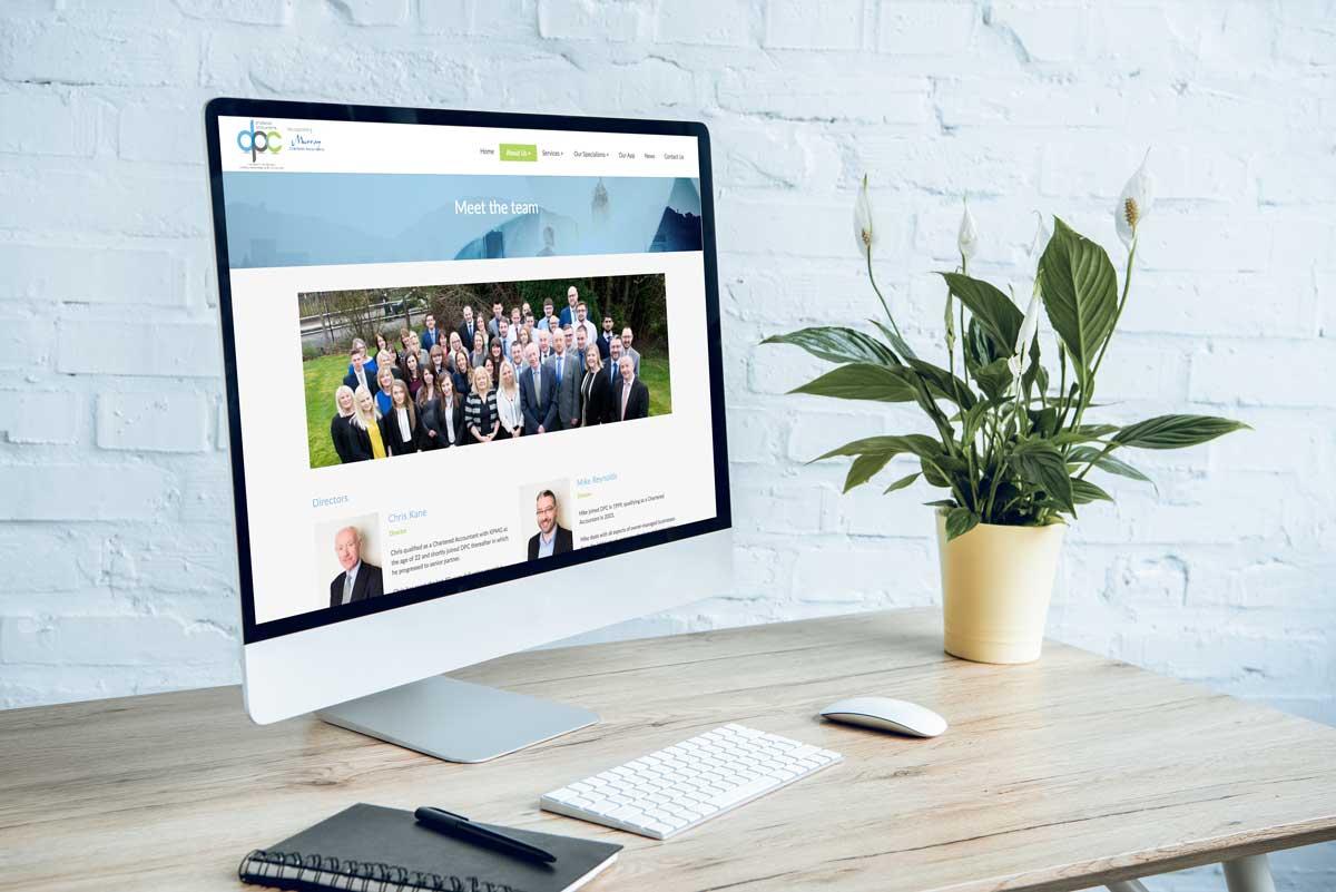 DPC Accountants website