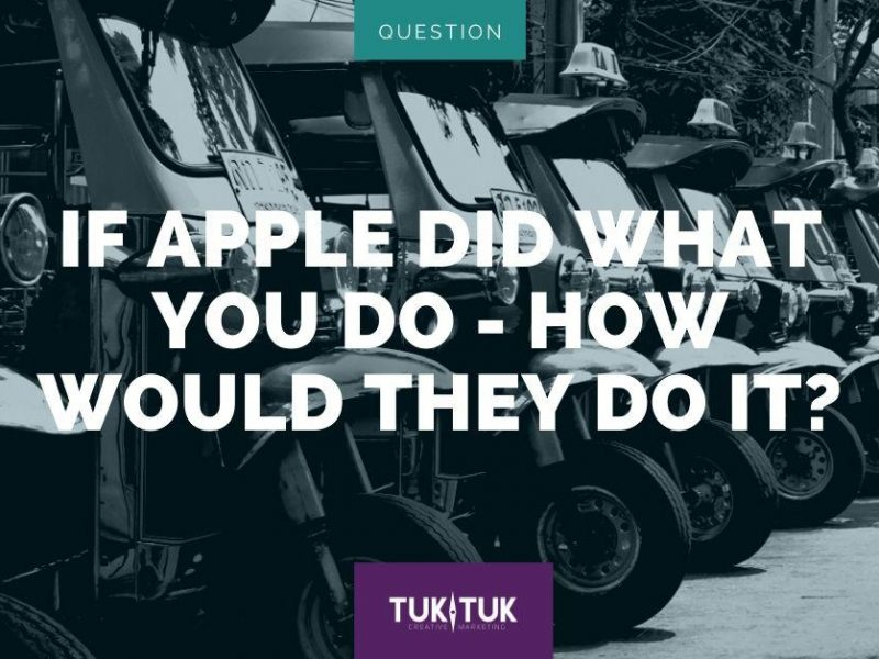 Apple Marketing blog graphic